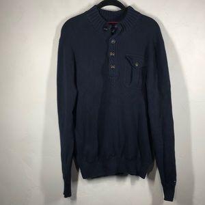 Tommy Hilfiger navy blue sweater size large